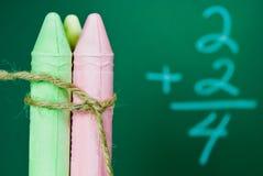 Einfaches Mathe Stockfotos
