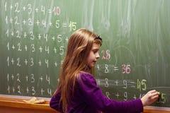 Einfaches Mathe Lizenzfreie Stockfotografie