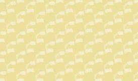 Einfaches modernes abstraktes gelbes Wolkenmuster Stockbilder