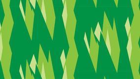 Einfaches modernes abstraktes grünes Kristallmuster Stockfotografie