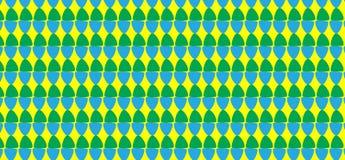 Einfaches modernes abstraktes grünes und blaues Eimuster Lizenzfreie Stockfotos