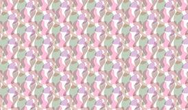 Einfaches modernes abstraktes rosa und grünes Fractalmuster Lizenzfreies Stockfoto