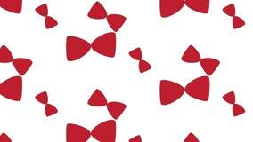 Einfaches modernes abstraktes rotes Fliegenmuster Lizenzfreies Stockbild