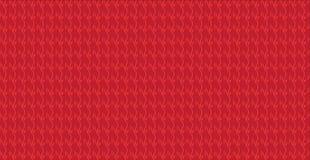 Einfaches modernes abstraktes rotes sacles Muster Lizenzfreie Stockbilder