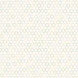 Einfaches Muster mit Farbkreisen Lizenzfreies Stockfoto