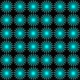 Einfaches nahtloses Muster stock abbildung