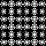 Einfaches nahtloses Muster vektor abbildung