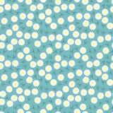 Einfaches und der Schönheitsblume nahtloses Muster Vektor Stockfoto