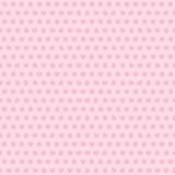 Einfaches Vektorherz mit verschiedenen Universalmustern auf einem rosa Hintergrund Hintergrund beleuchtete Girlande der farbigen  Lizenzfreies Stockbild
