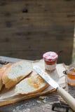 Einfaches Westartfrühstück Stockbild