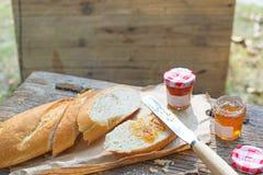 Einfaches Westartfrühstück Stockbilder