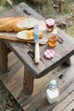 Einfaches Westartfrühstück Lizenzfreie Stockfotos