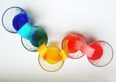 Einfachheit und Symbolismus in den Farben Lizenzfreie Stockfotos