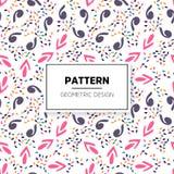 Einfarbige abstrakte gestreifte Beschaffenheit Nahtloses Muster für Hintergrund Stockbild