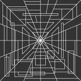 Einfarbige Hennastrauchzusammenfassung zeichnet Hintergrund Stockbild