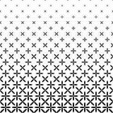 Einfarbiger abstrakter Ellipsenmusterhintergrund - geometrische Vektorschwarzweiss-graphik Stockfotografie