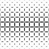 Einfarbiger abstrakter Ellipsenmusterhintergrund - geometrische Vektorschwarzweiss-graphik Stockfoto