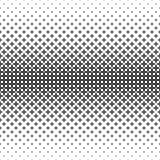 Einfarbiges geometrisches Muster - abstrakte Vektorhintergrundillustration von gebogenen Formen Lizenzfreie Stockfotografie