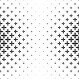 Einfarbiges geometrisches Muster - abstraktes Vektorhintergrundgrafikdesign Stockfotografie