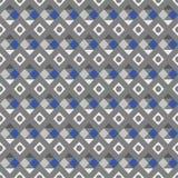 Einfarbiges geometrisches Muster des Vektors des abstrakten Begriffs Lizenzfreies Stockbild
