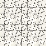 Einfarbiges geometrisches Muster des Vektors des abstrakten Begriffs Minimaler Schwarzweiss-Hintergrund Kreative Illustrationssch Stockbild