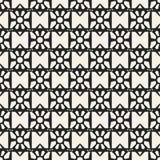 Einfarbiges geometrisches Muster des Vektors des abstrakten Begriffs Minimaler Schwarzweiss-Hintergrund Kreative Illustrationssch Stockfotos
