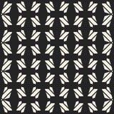 Einfarbiges geometrisches Muster des Vektors des abstrakten Begriffs Minimaler Schwarzweiss-Hintergrund Kreative Illustrationssch Stockfoto