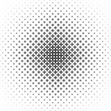 Einfarbiges geometrisches Muster - vector Hintergrundillustration von gebogenen Formen Stockfotografie