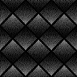 Einfarbiges Muster Schwarzweiss Stockfotografie