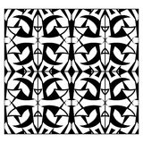 Einfarbiges nahtloses Muster des abstrakten Gitters Lizenzfreies Stockfoto
