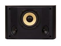 Einfassung - stichhaltiger Lautsprecher Stockbild