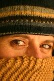 Einfrierende Kälte Lizenzfreie Stockfotos