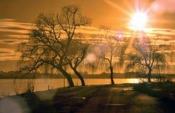 Einfrierender Pastell Stockfotografie