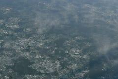 Einfrierendes Wasser, Beschaffenheit, Hintergrund Lizenzfreie Stockbilder
