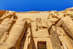 Eingang Abu Simbel Lizenzfreie Stockfotografie