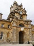 Eingang, Blenheim-Palast, Woodstock, Oxfordshire, England Stockfotos