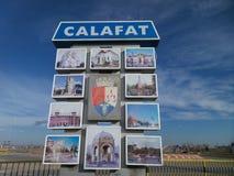 Eingang in Calafat Lizenzfreies Stockbild