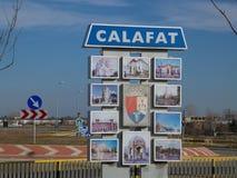 Eingang in Calafat Lizenzfreie Stockfotos
