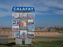 Eingang in Calafat Stockfotos
