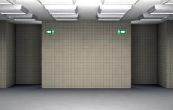 Eingang der allgemeinen Toilette Lizenzfreies Stockbild