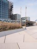 Eingang der neuen internationalen Strafkammer Stockfoto
