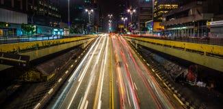 Eingang der Paulista-Allee Lizenzfreies Stockbild