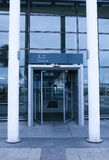 Eingang des Bahnhofs Lizenzfreie Stockbilder