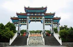 Eingang des chinesischen Tempels Stockfoto