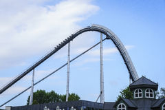 Eingang des Europa-Parks im Rost, Deutschland Stockfoto