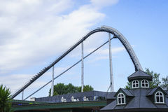 Eingang des Europa-Parks im Rost, Deutschland Lizenzfreie Stockfotografie