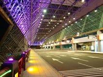 Eingang des Flughafens Stockbilder