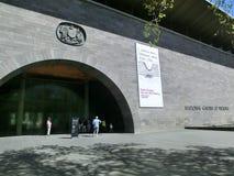Eingang des National Gallery von Victoria lizenzfreies stockfoto