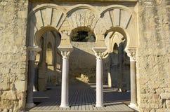 Eingang des oberen Basilic Gebäudes. Stockfotografie