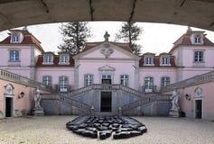 Eingang des Palastes von Oeiras Lizenzfreie Stockbilder